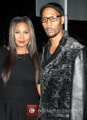 Rza and Talani Rabb 'The Man With The Iron Fists' screening at the Lighthouse Theater - Outside Arrivals New York...