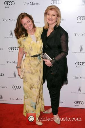 Christine Sophia Huffington and Arianna Huffington New York Premiere of 'The Master' at the Zigfield Theater New York City, USA...