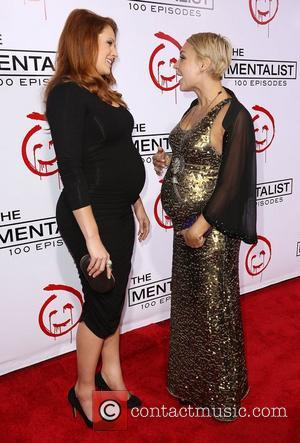 Amanda Righetti and Samaire Armstrong CBS celebrates 100 episodes of 'The Mentalist' held at The Edison - Arrivals Los Angeles,...