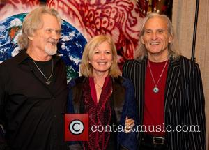 Kris Kristofferson; Janet Gilmore; Jimmie Dale Gilmore The Nobelity Project Dinner at the Four Seasons - Arrivals  Featuring: Kris...