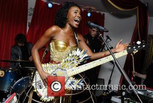 The Noisettes performing at Baroque club during the launch of their 3rd album 'Contact'  Featuring: Shingai ShoniwaWhere: London, United...
