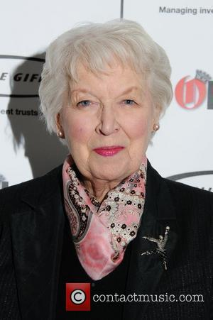 June Whitfield Honoured For Lengthy Career