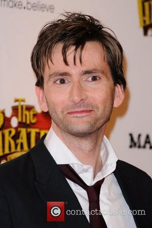 David Tennant The Pirates! In An Adventure With Scientists - UK film premiere - Arrivals London, England - 21.03.12