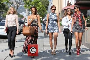 Mollie King, Rochelle Humes, Rochelle Wiseman, Una Healy, Vanessa White and Frankie Sandford