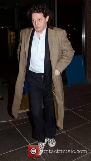 Marco Pierre White Celebrities outside the RTE studios for 'The Saturday Night Show'  Dublin, Ireland - 18.02.12