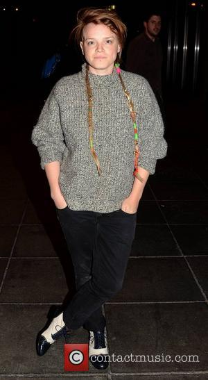 Wallis Bird Celebrities outside the RTE Studios for 'The Saturday Night Show' Dublin, Ireland - 06.10.12