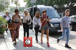 Rochelle Humes, Rochelle Wiseman, Mollie King, Vanessa White and Frankie Sandford