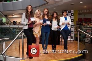 Rochelle Wiseman, Frankie Sandford, Mollie King, The Saturdays, Una Healy and Vanessa White