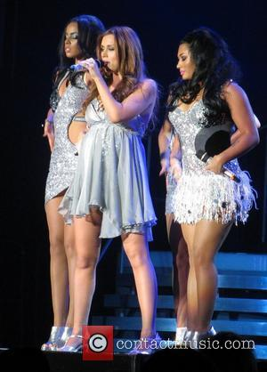 The Saturdays perform live at Wembley Arena as part of their All Fired Up tour London, England - 16.12.11