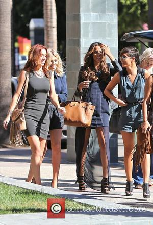 Frankie Sandford, Rochelle Humes, Mollie King and Una Healy