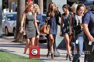 Vanessa White, Frankie Sandford, Rochelle Humes, Mollie King and Una Healy
