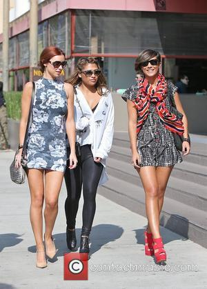 Una Healy, Rochelle Humes, Rochelle Wiseman and Frankie Sandford
