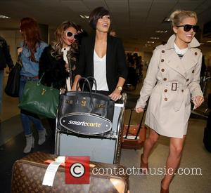 Una Healy, Vanessa White, Frankie Sandford and Mollie King
