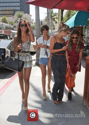 Frankie Sandford, Mollie King, Rochelle Wiseman and Vanessa White