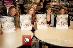Rochelle Humes, Una Healy, Frankie Sandford and Vanessa White
