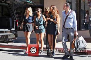 Mollie King, Frankie Sandford and Rochelle Wiseman
