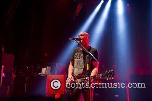 Mark Sheehan of The Script performing live at the Shepherds Bush Empire. London, England - 12.09.12