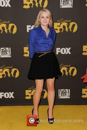 Evanna Lynch,  The Simpsons 500th Episode Celebration at The Hollywood Roosevelt Hotel, Hollywood - Yellow Carpet Los Angeles, California...
