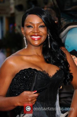 Caroline Chikezie  The Sweeney UK film premiere held at the Vue cinema - arrivals. London, England - 03.09.12