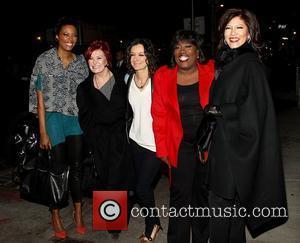 Aisha Tyler, Julie Chen, Sara Gilbert and Sharon Osbourne