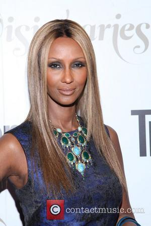 Iman ,  at the Conde Nast Traveler Celebration of 'The Visionaries' and 25 Years of Truth In Travel at...