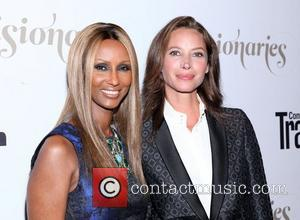 Iman and Christy Turlington