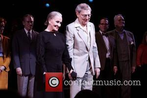 Chita Rivera, John Cullum and cast  The one-night-only Broadway benefit concert performance of 'The Visit' at the Ambassador Theatre...