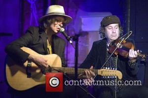 Mike Scott and Steve Wickham The Waterboys play an acoustic performance at the Oran Mor, following a discussion and book...