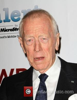 Max von Sydow TheWrap's 3rd Annual Pre-Oscar Party held at Culina Restaurant at the Four Seasons hotel Beverly Hills, California...