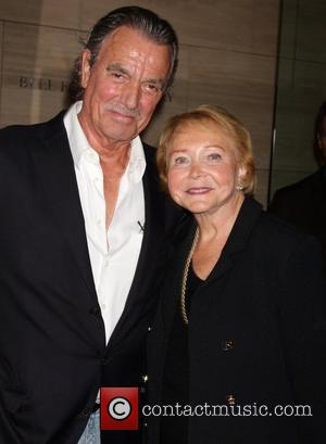 Eric Braeden and Lee P Bell  'The Young & Restless' celebrate 10,000 episodes at the Paley Center for Media...