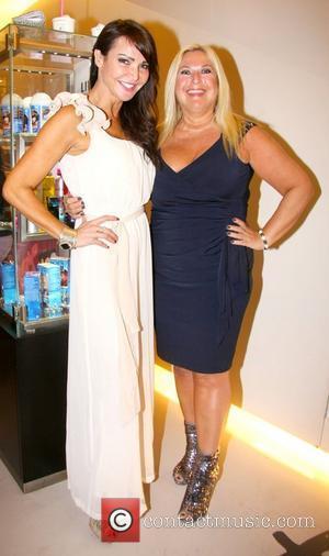 Lizzie Cundy and Vanessa Feltz