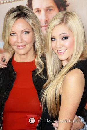 Heather Locklear, Ava Sambora and Grauman's Chinese Theatre