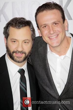 Judd Apatow, Jason Segel and Grauman's Chinese Theatre