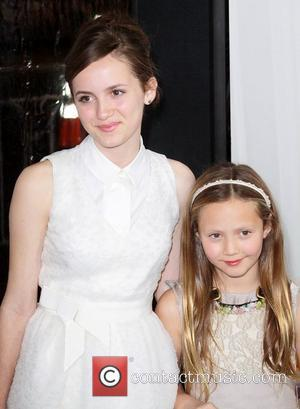 Maude Apatow, Iris Apatow and Grauman's Chinese Theatre