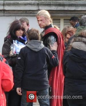 Chris Hemsworth and Thor