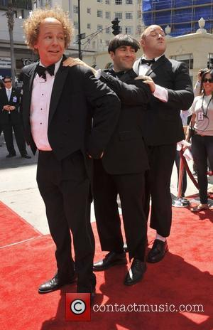 Sean Hayes, Chris Diamantopoulos, Will Sasso  The world premeire of 'The Three Stooges' held at Grauman's Chinese Theater in...