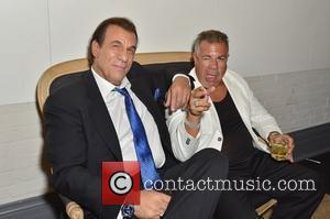 Robert Davi and guest 2012 Toronto Film Festival - The Iceman - After Party Toronto, Canada - 10.09.12
