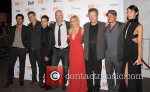 Colin Farrell, Abbie Cornish, Christopher Walken, Martin Mcdonagh, Olga Kurylenko, Sam Rockwell and Woody Harrelson