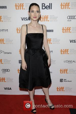 Winona Ryder  2012 Toronto International Film Festival - 'The Iceman' premiere arrival at the Princess of Wales Theatre....