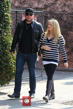 Chris Carney, Tiffany Thornton Tiffany Thornton out shopping for baby clothes with celebrity Stylist Wendy Bellissimo Los Angeles, California -...