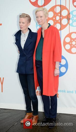 Tilda Swinton and Maja Borg at a photocall during the Edinburgh International Film Festival Edinburgh, Scotland - 22.06.12