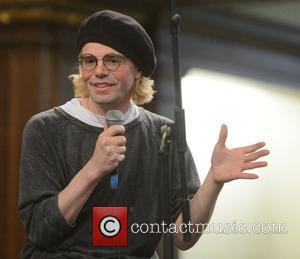 Tim Burgess at a talk and signing at St. James Church, London, England- 25.04.12