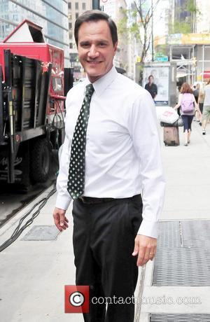 Tim DeKay  on the set of the TV show 'White Collar' shooting on location in Manhattan New York City,...