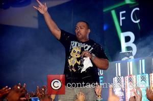 Timbaland  LeSUTRA Sparkling Liqueur launch at Hotel Fontainebleau Miami Beach, Florida - 01.09.12