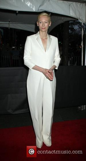 Tilda Swinton,  at the Time 100 Gala held at Frederick P. Rose Hall. New York City, USA - 24.04.12
