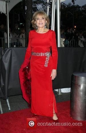 Barbara Walters,  at the Time 100 Gala held at Frederick P. Rose Hall. New York City, USA - 24.04.12