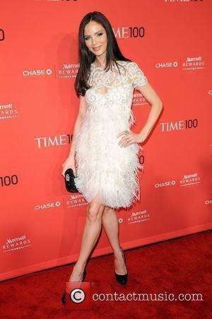 Georgina Chapman The Time 100 Gala held at Frederick P. Rose Hall - Inside Arrivals New York City, USA -...