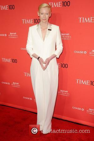 Tilda Swinton The Time 100 Gala held at Frederick P. Rose Hall - Inside Arrivals New York City, USA -...