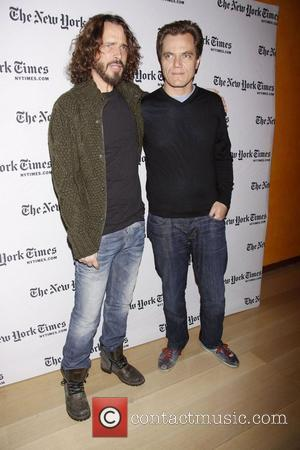 Chris Cornell and Michael Shannon  2012 NY Times Arts and Leisure Weekend - TimesTalks at the Times Center -...