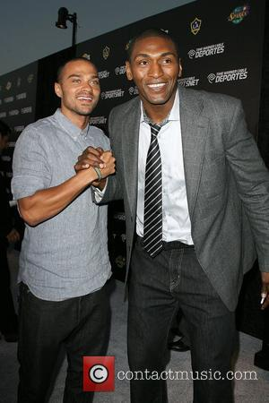 Jesse Williams and Ron Artest